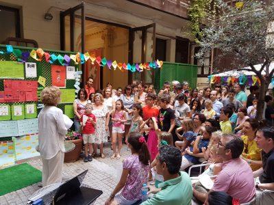 fiesta infantil de fin de curso de alemán 2017