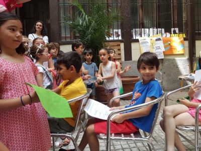 TANDEM Madrid celebra en su fiesta de fin de curso 25 años de alemán para niños.